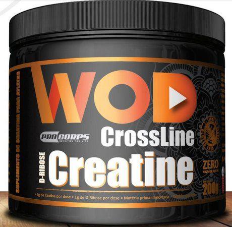 WOD CREATINA + D RIBOSE CROSSLINE 200GR PURA