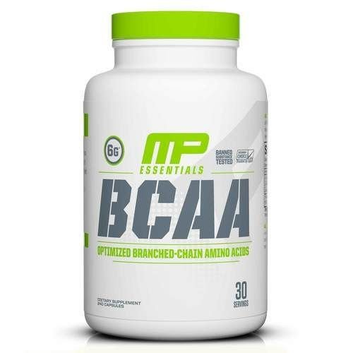 BCAA 240 CAPS MUSCLE PHARM