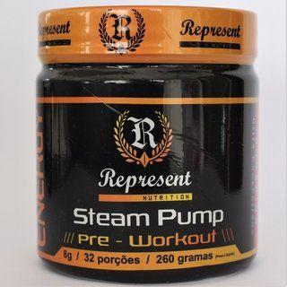 STEAM PUMP 260GR TANGERINA REPRESENT NUTRITION