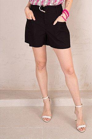 Shorts Pietra Preto