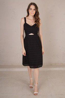 Vestido Hannah Preto