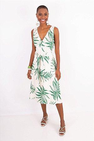 Vestido New Tropical  Green