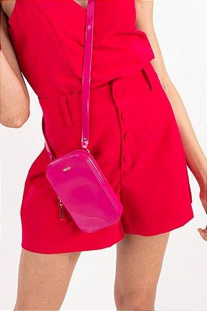 Short Lívia Crepe Pink