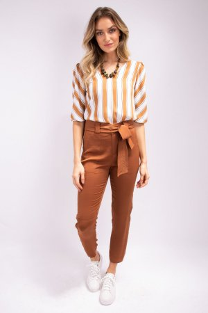 Blusa 7/8 Honey Stripes