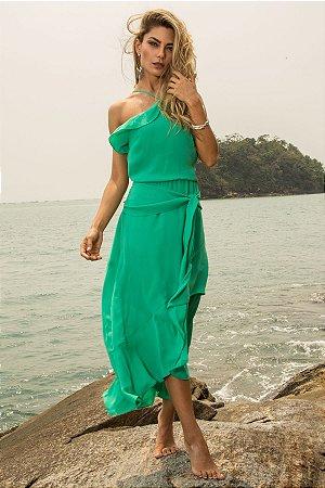 Vestido Midi Bella Verde