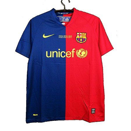 Camisa Retro Barcelona 2008 09 Imporsports Loja Virtual