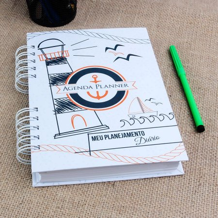 Agenda Planner 2019 | Capa Marítima