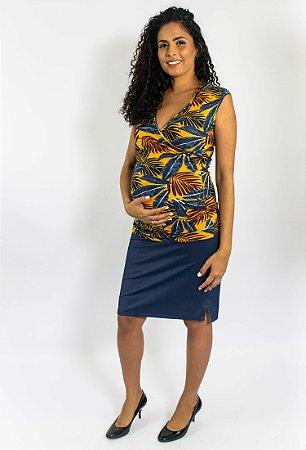 b389b9fa9 Saia lápis gestante Mirra - Mamme - roupas para amamentar e moda ...
