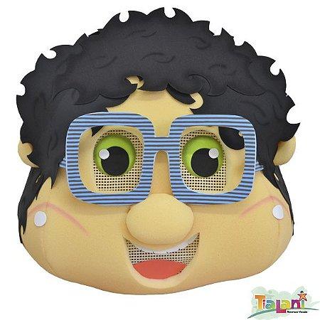 Cabeção em Espuma - Menino de Óculos de Listras