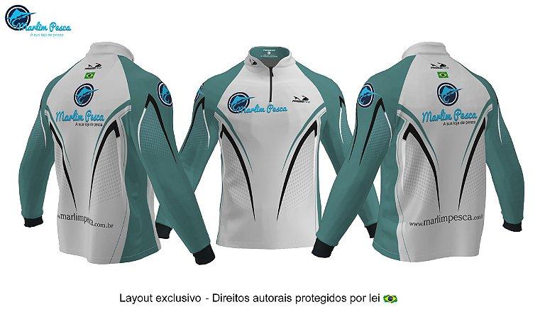 Camisa Marlim Pesca - Verde