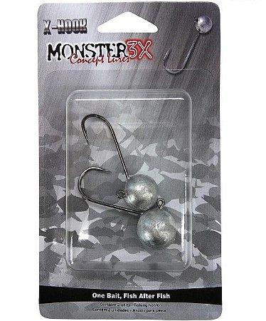 Jig Head X-Hook - Monster3X