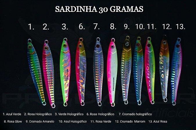 Sardinha 30g - Predador