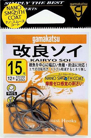 Anzol Gamakatsu Kairyou Soi