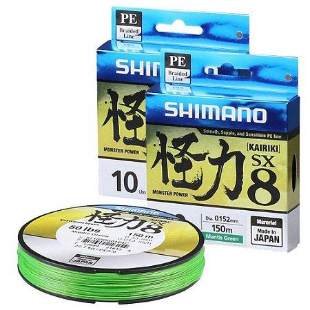 Linha Shimano Kairiki SX8 PE 300m