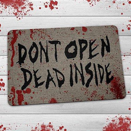 Capacho Ecológico Don't Open Dead Inside