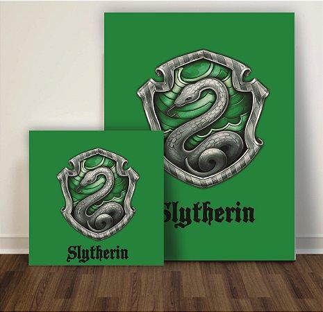 Quadro Harry Potter Slytherin