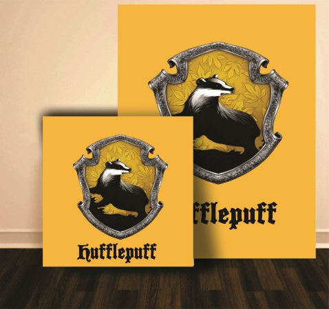 Quadro Harry Potter Hufflepuff