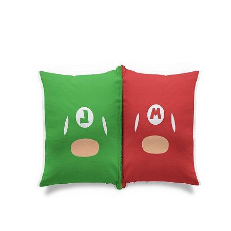 Mini Almofada Dupla Face Mario