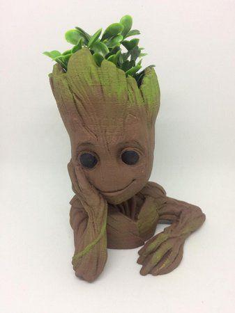 Vaso de planta - Groot Jovem