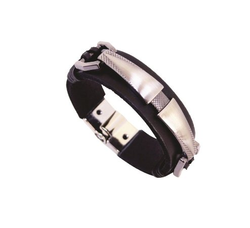 HUSTLE LEATHER SILVER - CABALLERO