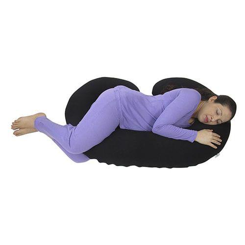 Travesseiro para Gestante Preto BabyKinha