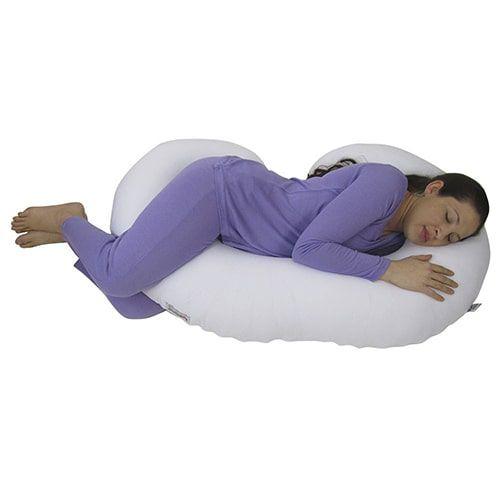 Travesseiro para Gestante Branco BabyKinha