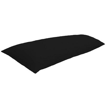 Travesseiro Gigante de Corpo Inteiro Preto
