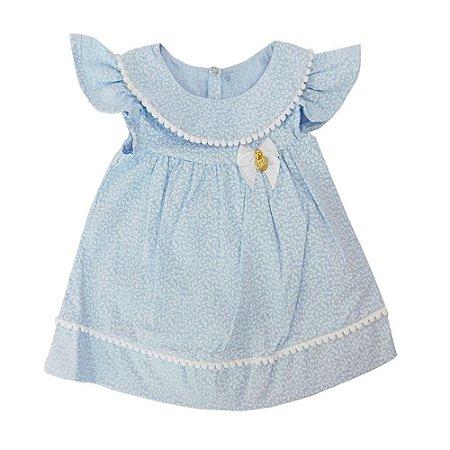 Vestido para Bebê Emilia Céu