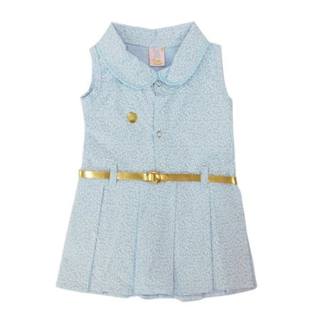 Vestido para Bebê Edilma Céu