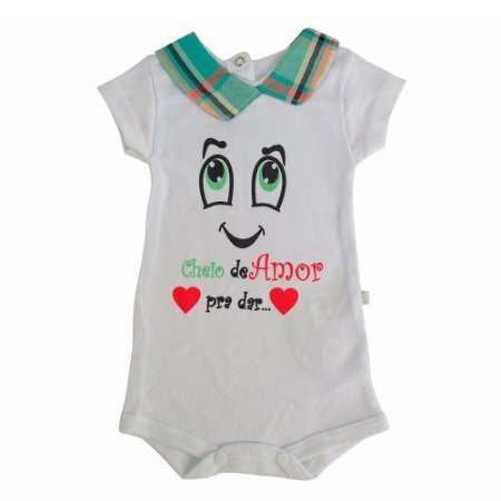 Body Gola Polo Estampado Java Baby