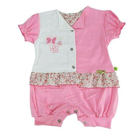 Macaquinho Simples Detalhes Dayane Baby