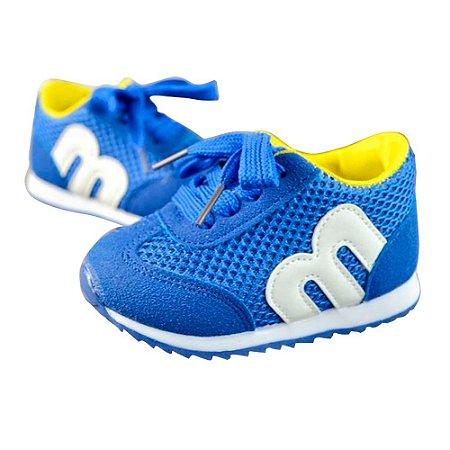 Tênis Esportivo Azul