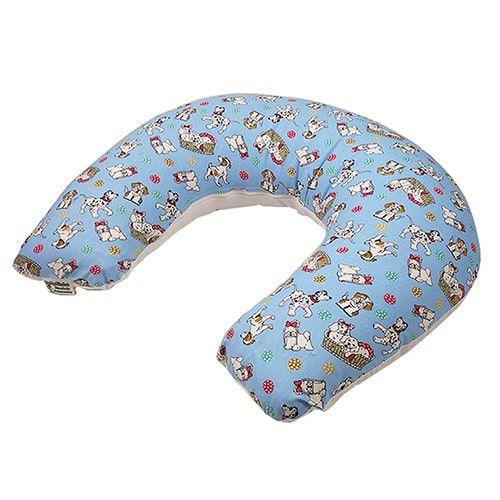 Almofada de Amamentação Azul Cachorrinho BabyKinha