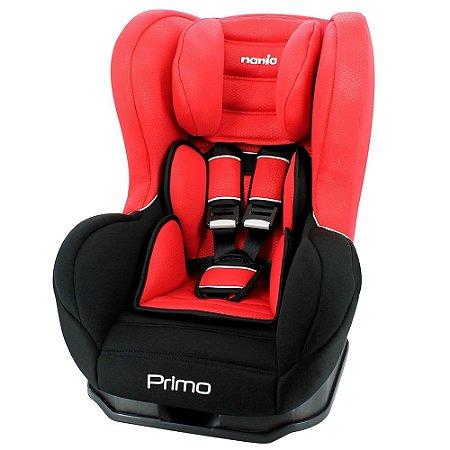 Cadeira para Auto Nania Primo Luxe Rouge Vermelho 0 a 25kg Team Tex