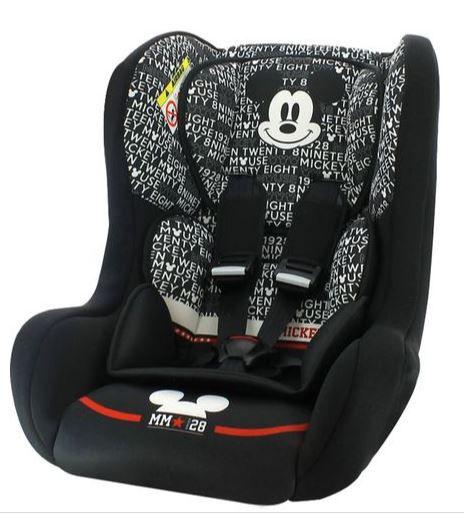 Cadeira para Auto Disney Mickey Mouse Trio 0 a 25kg Team Tex