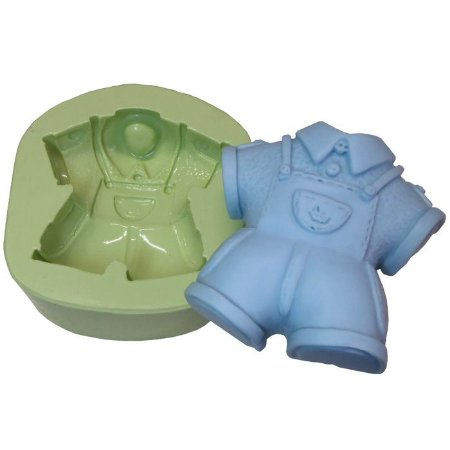 Molde de Silicone Roupinha Infantil Masculina
