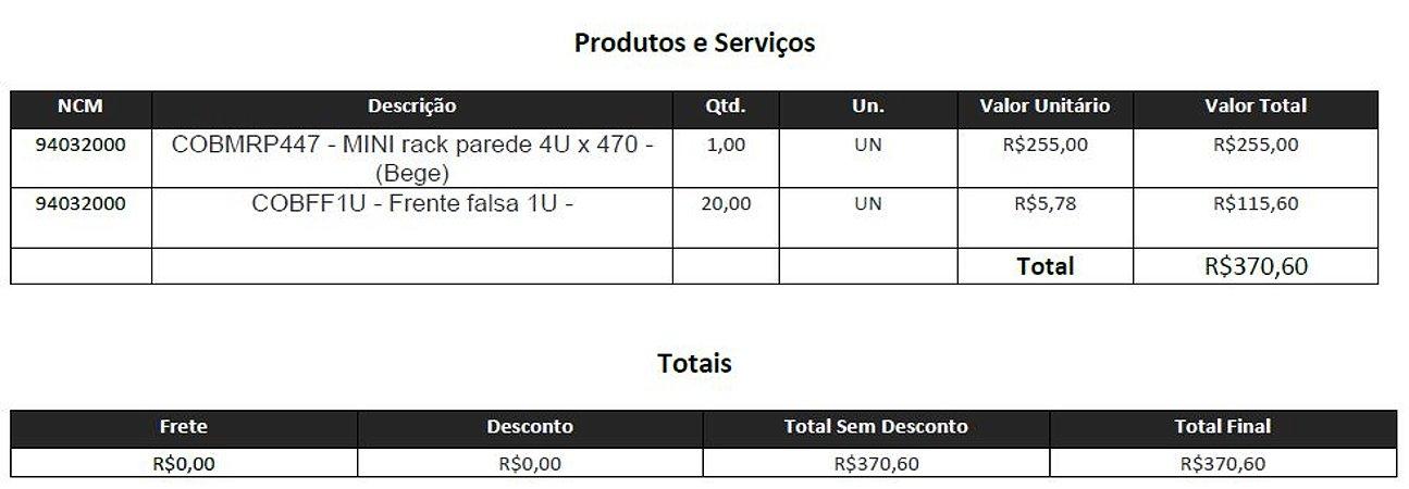 Rack 4U - Acessórios - GrupoV3