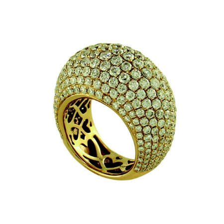 Anel em Ouro com Diamantes (6,05ct)