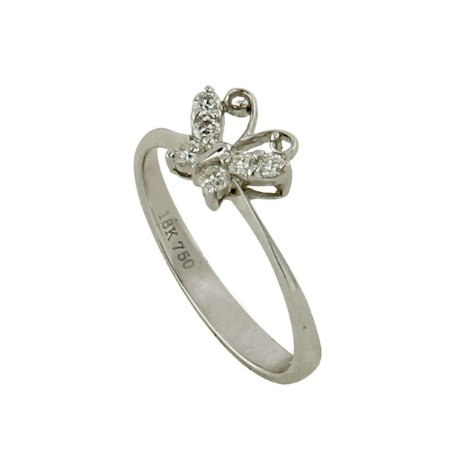 Anel de Ouro e Diamantes