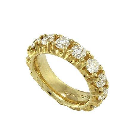 Aliança de Ouro e Diamantes (30 pts por pedra)