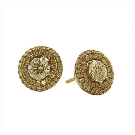 Brinco de Ouro c/ Diamantes  (50pts por pedra)