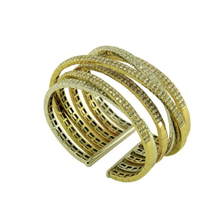 Bracelete de Ouro com Diamantes (11,16 ct)