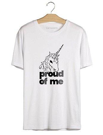 Camiseta Unicórnio Orgulhoso