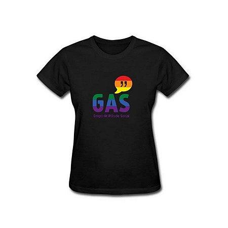 Baby Look GAS - Arco-íris