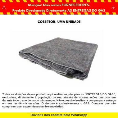 Cobertor para Doação - GAS & Cabana Burger