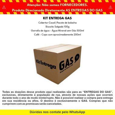 Kit Entrega Individual Doação - GAS & Cabana Burger