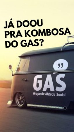 Kombi do GAS - Vaquinha