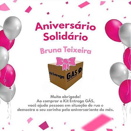 Kit de Entrega Individual Aniversário Solidário Bruna Teixeira