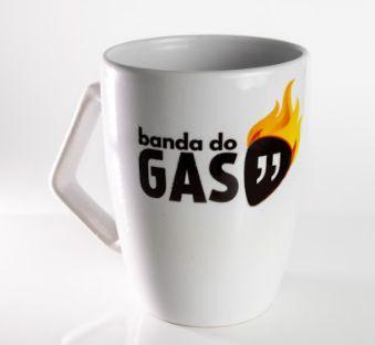 Caneca Porcelana Banda do GAS