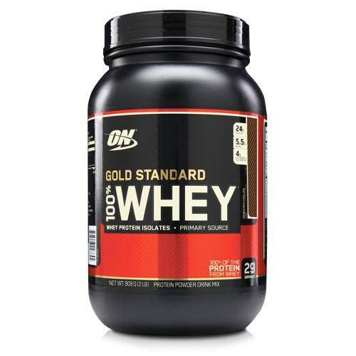 Gold Standard 100 Whey Protein (900g) Optimum Nutrition - Chocolate